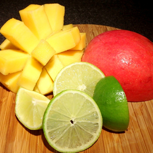 Lime and Mango